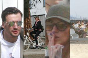 Bieniuk z Gliwińską i dziećmi na wycieczce rowerowej (ZDJĘCIA)