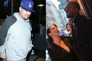 """Kanye West czule o swoim szwagrze: """"Zrobiłem liposukcję, bo nie chciałem być gruby jak Rob"""""""