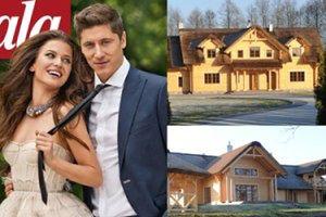 Lewandowscy budują nowy dom... nad jeziorem! (ZDJĘCIA)