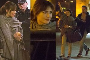 Żmuda Trzebiatowska spisywana przez policję (ZDJĘCIA)