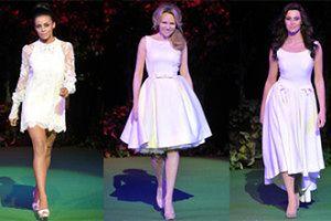 Celebrytki na pokazie sukien ślubnych! (FOTO)