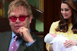 """Elton John o """"Royal baby"""": """"Jestem zachwycony, że jedno z imion to Diana!"""""""