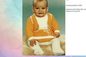 Anna Mucha pokazała zdjęcie z dzieciństwa