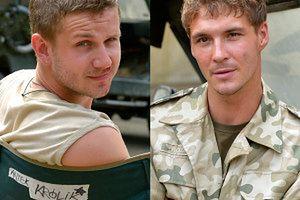 Przystojni aktorzy jako żołnierze!