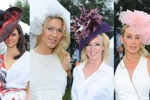 Celebrytki w kapeluszach na zawodach jeździeckich! (ZDJĘCIA)