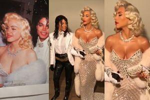 Kim i Kourtney przebrały się za... Madonnę i Jacksona! (FOTO)