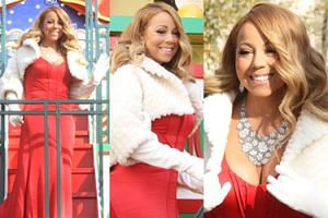 Mariah Carey na Święto Dziękczynienia (ZDJĘCIA)