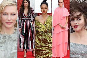 """Gwiazdy promują """"Ocean's 8"""" w Londynie: Rihanna, Blanchett, Bullock, Paulson, Bonham Carter... (ZDJĘCIA)"""