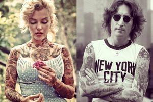 Znani w tatuażach? Tak by to wyglądało! (GALERIA)