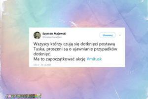 Szymon Majewski kpi z molestowanych kobiet?