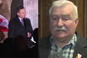 """Wałęsa: """"Wstydzę się, że demokracja dała nam prezent w postaci Dudy!"""""""