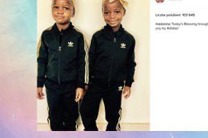 Madonna pokazała adoptowane bliźniaczki!