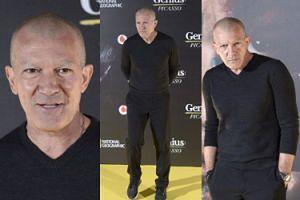Antonio Banderas bez włosów i brwi na premierze filmu (ZDJĘCIA)