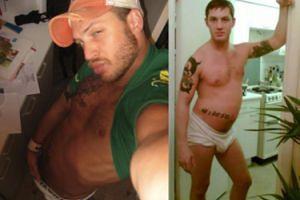 Młody Tom Hardy w samych majtkach! (FOTO)