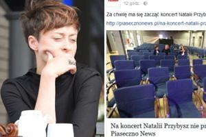 """Mieszkańcy Góry Kalwarii ZBOJKOTOWALI KONCERT Natalii Przybysz? """"Rynek zweryfikował""""..."""