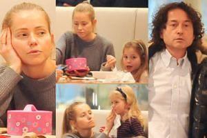 Rubikowie z córkami na obiedzie w galerii handlowej (ZDJĘCIA)