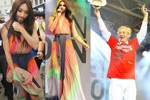 Conchita i McKellenn na Paradzie Równości (ZDJĘCIA)