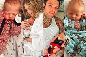 Syn Chiary Ferragni stał się gwiazdą sieci... tydzień po urodzeniu! (ZDJĘCIA)