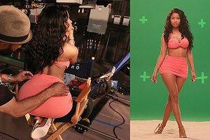 Tyłek Nicki Minaj w reklamie!