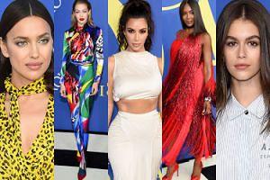 Modelki i celebrytki bawią się na gali CFDA: Irina Shayk, Kim Kardashian, Naomi Campbell, Kaia Gerber... (DUŻO ZDJĘĆ)