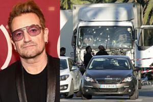 Bono był w Nicei w trakcie zamachu. Ratowali go antyterroryści!