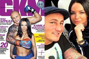 Dziewczyna Artura Szpilki rozebrała się dla magazynu CKM (ZDJĘCIA)
