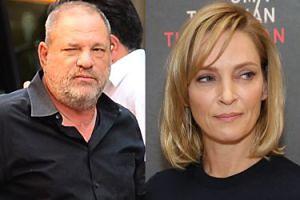 Uma Thurman też była ofiarą Weinsteina!?