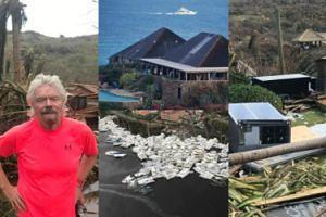 Tak wygląda prywatna wyspa brytyjskiego miliardera po przejściu huraganu Irma! (ZDJĘCIA)