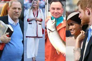 ZDJĘCIA TYGODNIA: Andrzej Duda łowi ryby, a Gosia Rozenek - kandydatki na lady