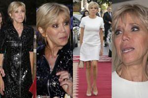 Brigitte Macron w dwóch sukienkach w Maroku: czarna czy biała? (ZDJĘCIA)