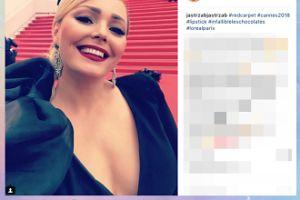 Agnieszka Jastrzębska łamie regulamin czerwonego dywanu w Cannes