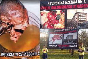 """Środowiska """"pro-life"""" protestują przed warszawskimi szpitalami. """"Rocznie przez aborcje ginie 1000 polskich dzieci. Matki poddawane są presji, by zabić!"""""""