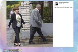 Saramonowicz pokazał męża Beaty Szydło