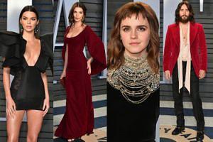 """TŁUM GWIAZD na """"Vanity Fair"""" Oscar Party: Watson, Ratajkowski, Jenner, Leto... (DUŻO ZDJĘĆ)"""