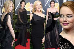 Złote Globy 2018: Jolie, Stone, Biel, Kidman, Witherspoon, Cruz…   (DUŻO ZDJĘĆ)
