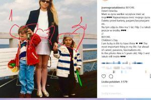 Przetakiewicz pokazała stare zdjęcie z dziećmi