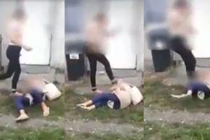 13-latka BRUTALNIE POBIŁA kobietę. Przewróciła na ziemię i skopała! (WIDEO)
