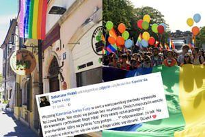 """Przeciwnicy Parady Równości zaatakowali warszawską kawiarnię za... TĘCZOWĄ FLAGĘ! """"Opluli jednego z pracowników"""""""