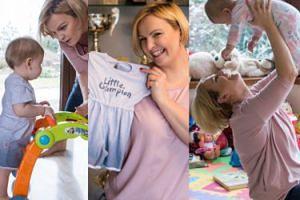 TYLKO U NAS: Otylia Jędrzejczak stworzyła kolekcję ubranek dla dzieci (ZDJĘCIA)