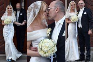 Mlynkova i Wronka całują się po ślubie! (WIĘCEJ ZDJĘĆ)