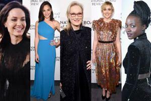 Hollywoodzkie gwiazdy odbierają nagrody w Nowym Jorku: Angelina Jolie, Meryl Streep, Gal Gadot, Lupita Nyong'o... (ZDJĘCIA)