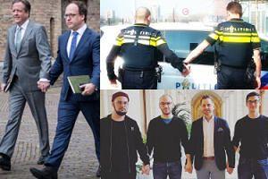 Holenderscy mężczyźni trzymają się za ręce! Oto akcja solidarności z pobitymi gejami (ZDJĘCIA)