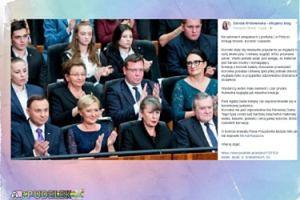 """Dorota Wróblewska ocenia: """"Koronka nie jest odpowiednia dla Pierwszej Damy"""""""