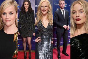 Hollywoodzkie gwiazdy na rozdaniu nagród: Kidman, Witherspoon, Robbie, Pattinson, Weisz... (ZDJĘCIA)