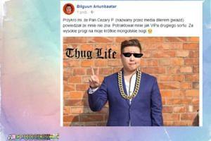 """Bilguun Ariunbaatar: """"Przykro mi, że Pan Cezary P. powiedział, że mnie nie zna"""""""
