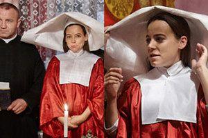 Mucha jako zakonnica i... Pudzian jako ksiądz! (ZDJĘCIA)