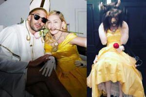 """Madonna z okazji żydowskiego święta przebrała się za Bellę z """"Pięknej i Bestii"""" (FOTO)"""