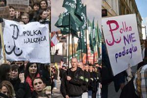 """ONR donosi do prokuratury na Czarny Protest i znak """"Polki Walczącej""""!"""