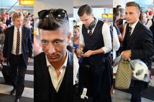 Mundial 2018: Piłkarze wrócili do kraju. Okrzyków radości nie było... (ZDJĘCIA)