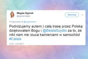 """Ogórek: """"Całą trasę przez Polskę dziękowałam Bogu i Beacie Szydło"""""""